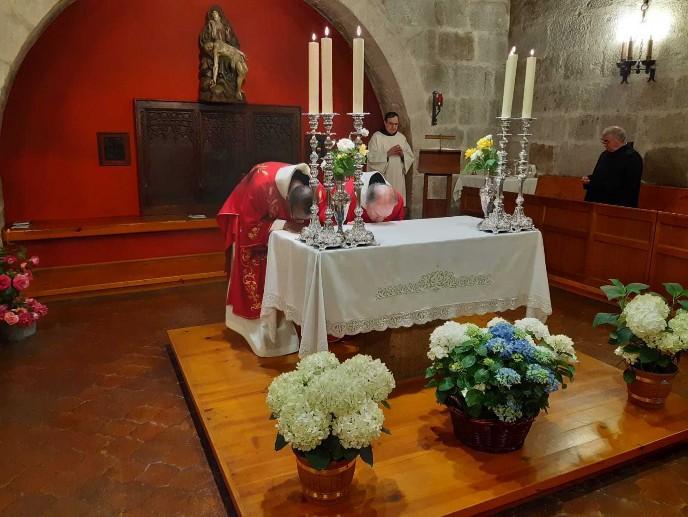 Veneración del Altar