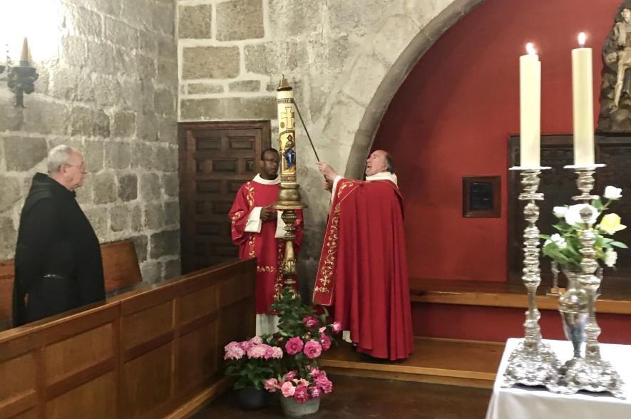 Apagado del  Cirio Pascual