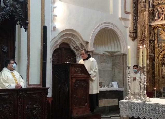 Las preces fueron leídas por el Hermano Francisco Javier