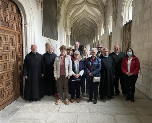 Alumnos y profesores del curso sobre Pablo de Tarso, mayo 2021